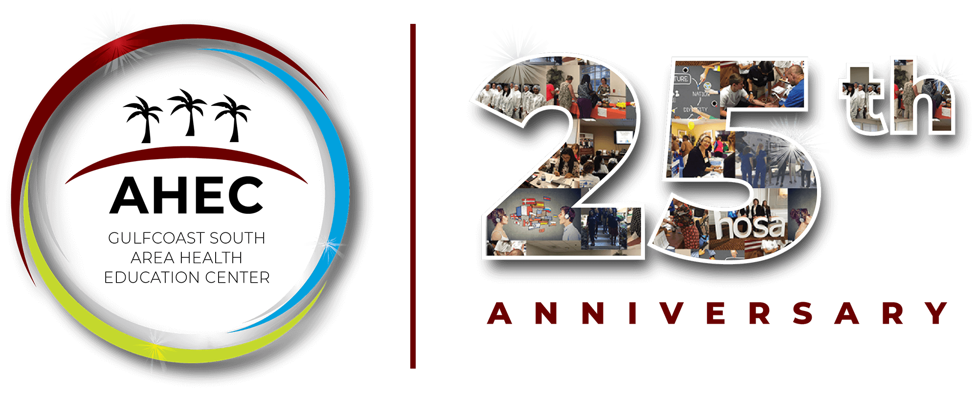 25th Anniversary Collage Logo