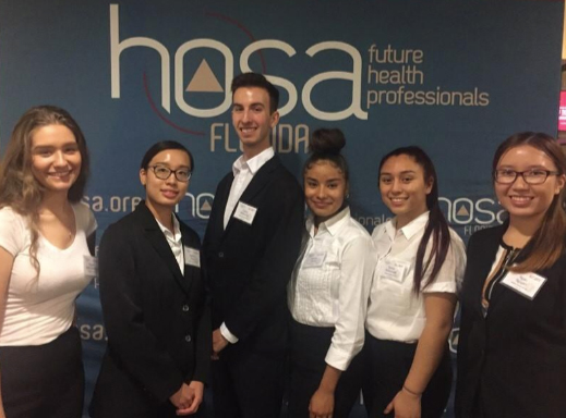 HOSA future health professionals students