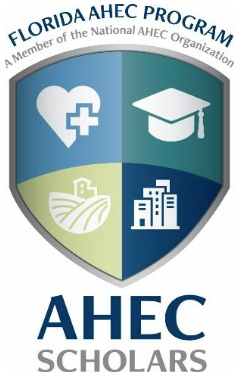 Florida AHEC program Scholars logo