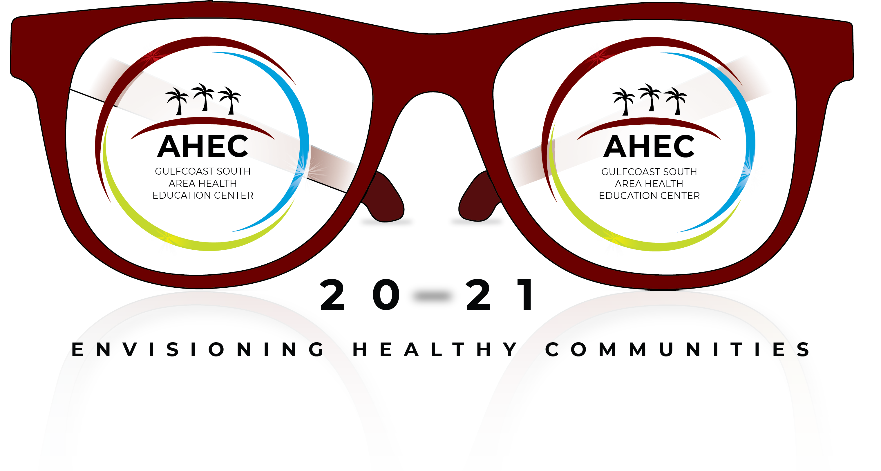 GSAHEC Logo of Envisioning Healthy Communities for 2020-2021
